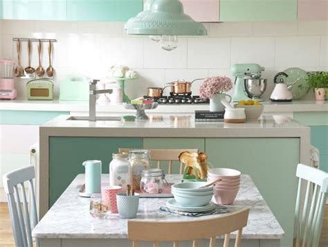 Freshen up your kitchen with pastel shades   Good Homes