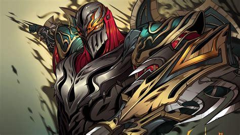 fondos de pantalla ilustracion anime zed league
