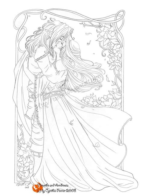 feel  heart  tanael  deviantart coloring book art fairy coloring pages coloring pages