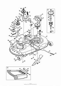 Craftsman Lt2000 Upper Drive Belt Diagram