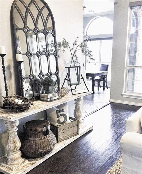 Best 25  Console table decor ideas on Pinterest   Foyer
