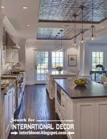 ceiling ideas for kitchen largest album of modern kitchen ceiling designs ideas tiles