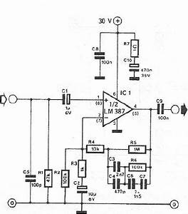 microphone circuit page 4 audio circuits nextgr With classroom microphone circuit