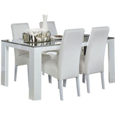 table de cuisine moderne pas cher table salle à manger blanc et gris taupe laqué lita pas