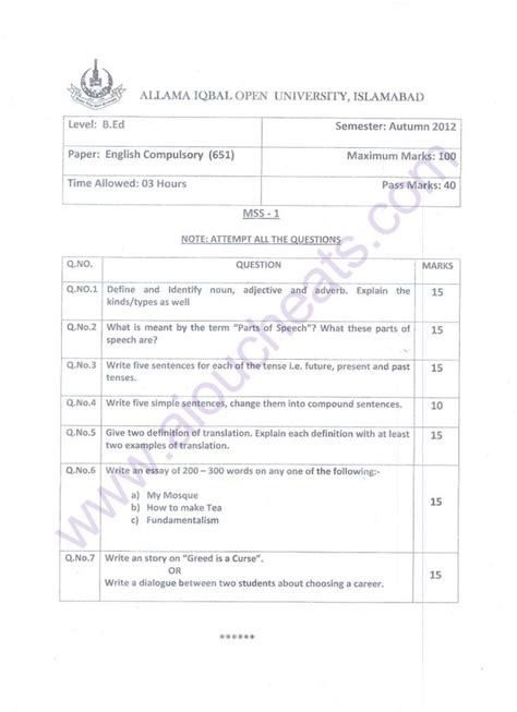 Resumes With Results Edmonton Reviews by Aiou Papers Ba Economics