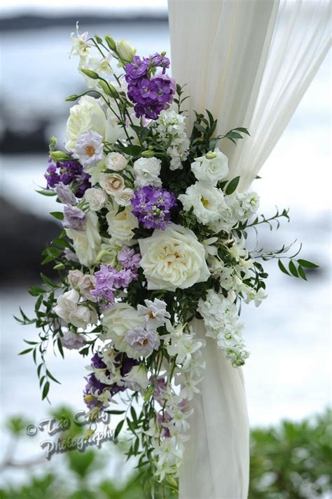 arbor arch chuppah ceremony flowers images