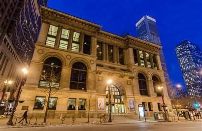 Cultural Center Architecture Chicago Buildings Biennial Rogers