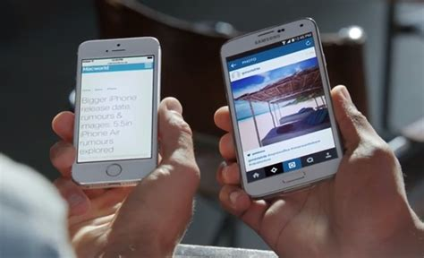samsung makes iphone samsung ad makes of apple s iphone 6 before it s even