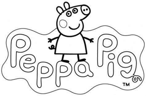 disegni da colorare e stare peppa pig peppa pg da colorare