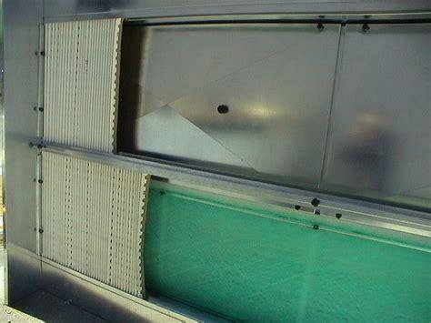 cabine di verniciatura cabina di verniciatura a secco mod carbo tecno azzurra