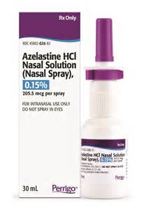 Azelastine HCl Nasal Solution, 0.15% Azelastine Nasal Spray