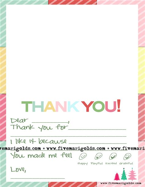 christmas   note template  kids  marigolds