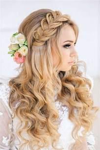 coiffure invitã e mariage coiffure mariage tresse et boucle 2016