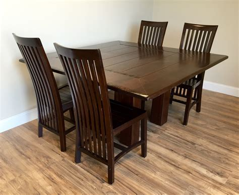 square dining table dining room table  chairs set large
