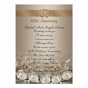 17 best images about 60th wedding anniversary on pinterest With free printable 60th wedding anniversary invitations