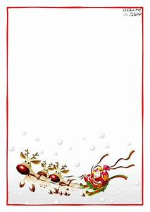 letter to santa claus blank paper template sleigh background 4 With blank christmas letter paper