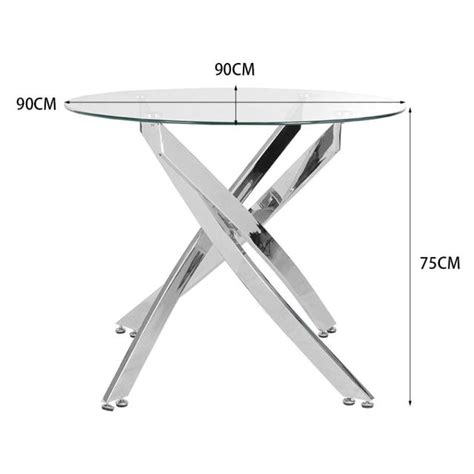 Get the best deals on glass round coffee tables. Round Tempered Glass End Table Accent Coffee Table Chrome Legs,TABLES