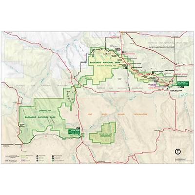 Badlands MapsNPMaps.com - just free maps period.