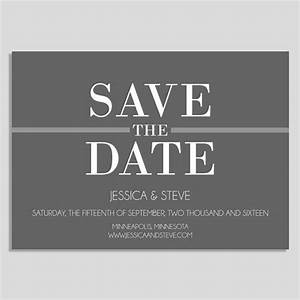 save the date template gray save the date modern save With conference save the date template