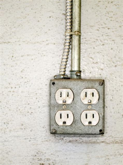 how to install an exterior electrical outlet hgtv