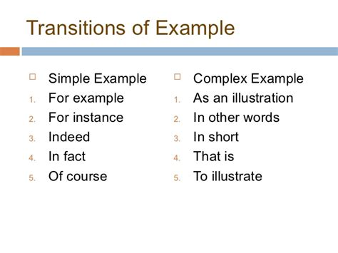 Transition Words For Resumes by Affordable Price Exle Essay Using Transition Words