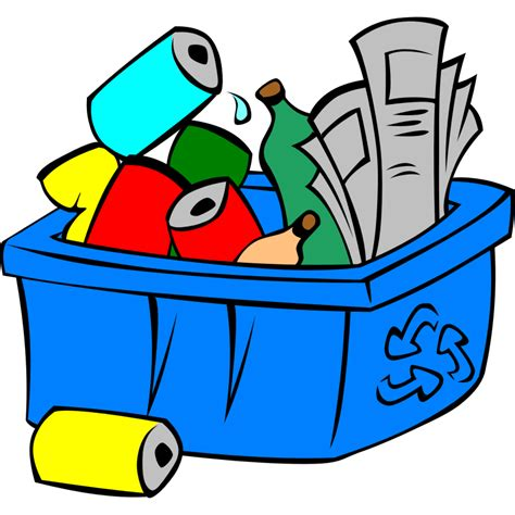 recycle bin clipart recycling bin clip cliparts co