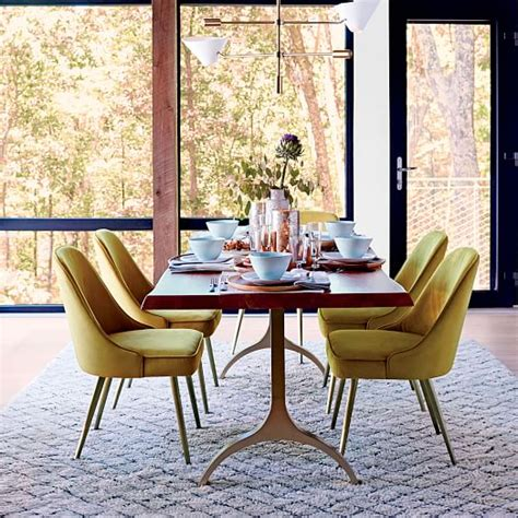West Elm Dining Room Tables by Cast Trestle Dining Table West Elm