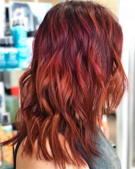 auburn colored hair 81 auburn hair color ideas in 2018 for brown hair