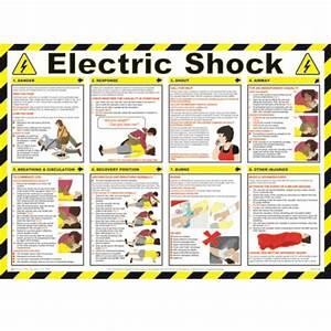 Electric, Shock, Safety, Poster