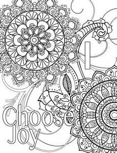 Choose Joy Coloring Pages