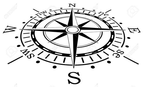 compass black and white compass clipart wind pencil and in color compass clipart