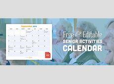 August Events & Ideas Activities Calendar