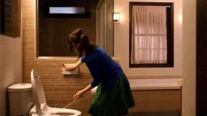 Bidet Toilet Gifs Paper Diarrhea Water Splash