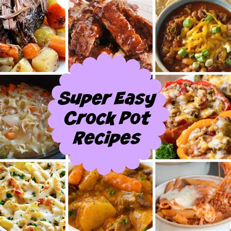 easy crock pot dishes easy crock pot meals archives stylish life for moms
