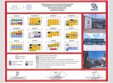 Calendario Escolar CBTis 36