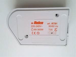 Dimmer switch floor slide foot dimmer 300 watt white for Floor lamp sliding dimmer switch