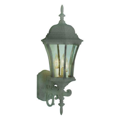 bel air lighting cabernet 3 light outdoor wall verde green