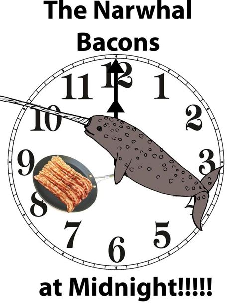 Narwhal Meme - the narwhal bacons at midnight know your meme