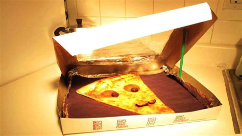 pizza box ofen how to turn a pizza box into a solar oven