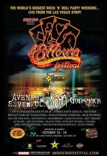 hours festival  las vegas