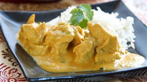 recette légère émincés de poulet fondant au curry