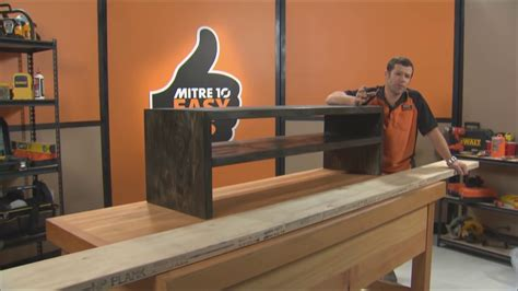 build  tv cabinet mitre  easy  youtube