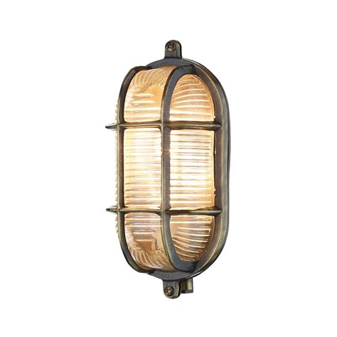 david hunt adm5275 admiral antique brass outdoor wall light