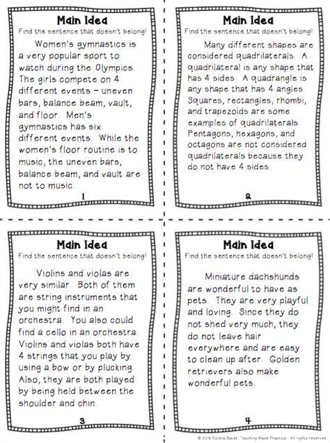 idea worksheets 3rd grade 140104 myscres
