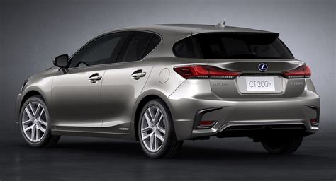 updated lexus ct 200h quietly blends in with the frankfurt crowd carscoops