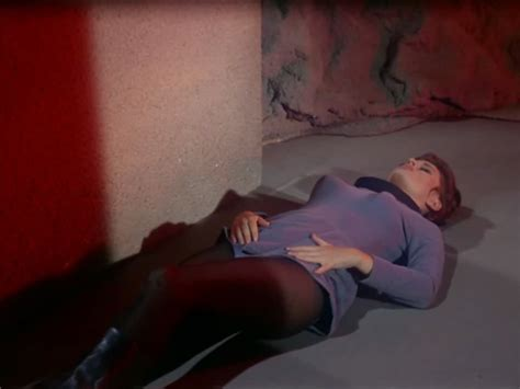 Naked Marianna Hill In Star Trek