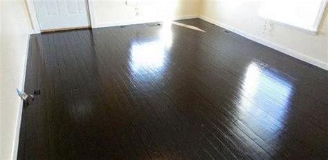 Dark Wood Floors In Kitchen