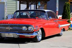 Chevrolet Impala 1960 Red For Sale  1960 Chevy Impala 348