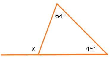 find interior angles   triangle awesome home
