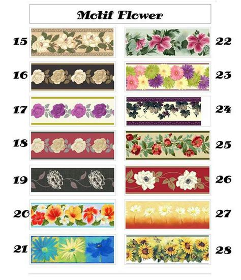 wallpaper bunga border bunga wallborder bunga jual wallborder bunga matahari borderdinding bunga list